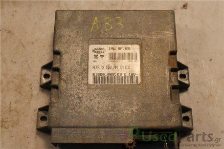 ALFA ROMEO- 33 - Εγκέφαλος---ΕΤΟΣ: Μεταχειρισμένα ανταλλακτικά αυτοκινήτων www.usedparts.gr--- Απόσυρση αυτοκινήτων - αγορά τρακ