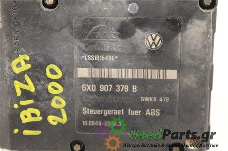SEAT - IBIZA - Μονάδα ABS -  - ΘΕΣΗ:  - ΕΤΟΣ: 2000 - ΚΩΔ.ΚΑΤ/ΣΤΗ: 6X0907379B.Μεταχειρισμένα ανταλλακτικά αυτοκινήτων www.usedpar
